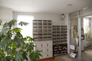 ウェルドーミ恵庭玄関・下駄箱イメージ