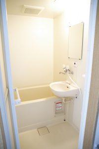ウェルドーミ恵庭浴室イメージ