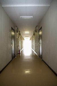 ウェルドーミ恵庭廊下イメージ