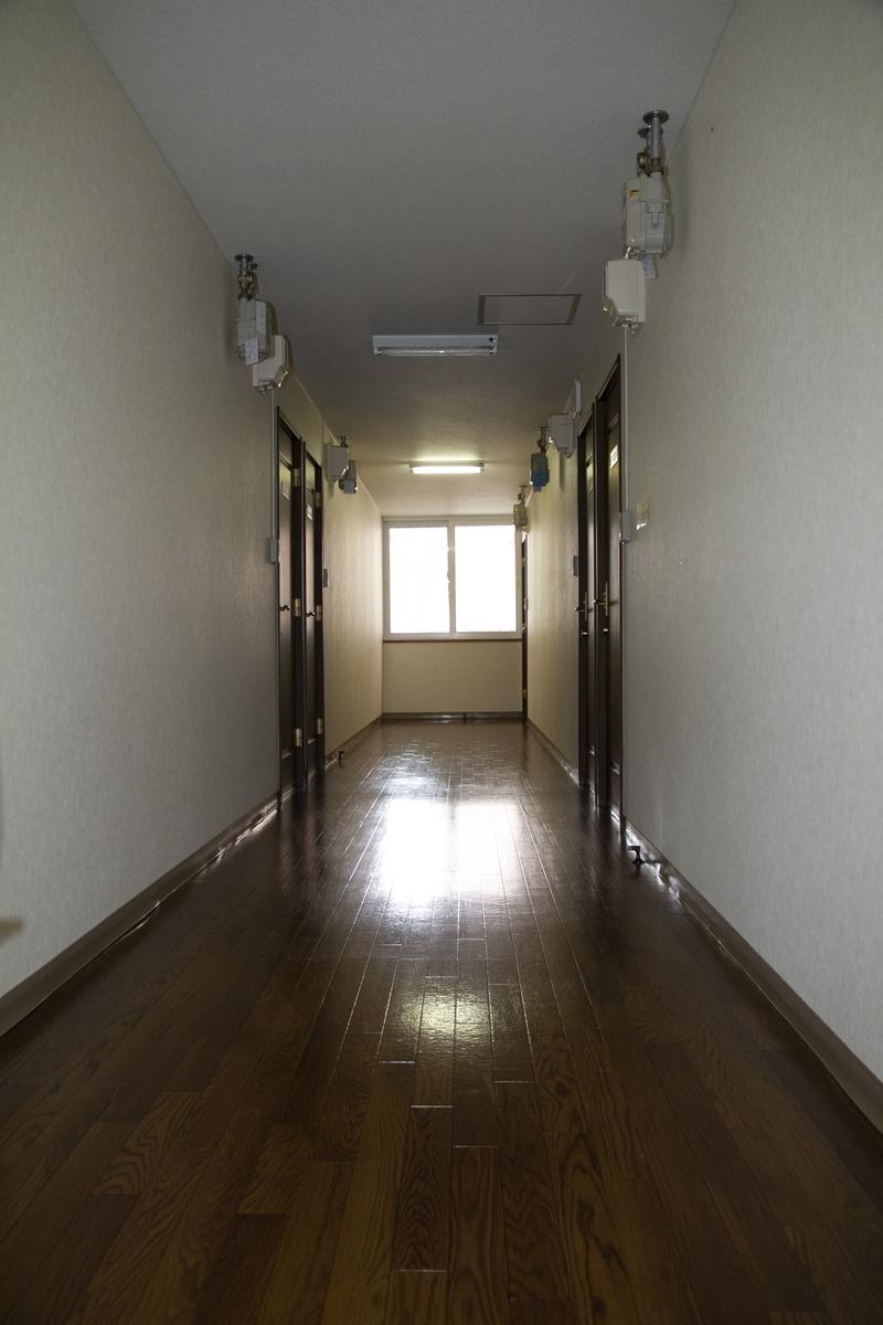第3ウェルドーミ廊下