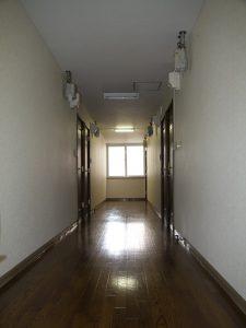 第3ウェルドーミ恵庭廊下