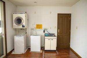 ウェルドーミ末広洗濯機コーナー
